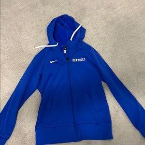 Nike UK softball therma-fit jacket